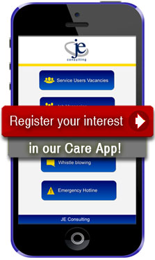 Register your interest in our Care App!