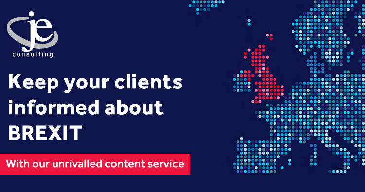 Keep your clients informed about BREXIT with our unrivalled content service